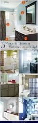 Bathroom Makeover Ideas On A Budget Best 20 Bathroom Updates Ideas On Pinterest Framing A Mirror