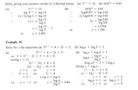 Solving Inequalities Worksheet With Answers Solving Exponential And Logarithmic Equations Worksheet