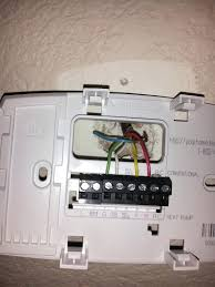 wiring diagram for a honeywell thermostat wiring free wiring