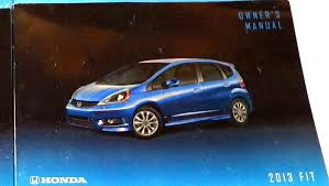 buy honda fit 2013 owner u0026 39 s manual warranties service history