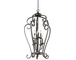 Entryway Chandelier Lighting Monroe 8 Light Cage Foyer Chandelier Oz