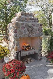 River Rock Bathroom Ideas Stunning River Rock Fireplace Images Design Inspiration Tikspor