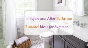 Bathroom Remodel Ideas 2017 10 Before And After Bathroom Remodel Ideas For 2017 2018 U2014 Decorationy