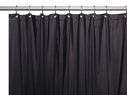 royal bath extra wide 5 gauge vinyl shower curtain liner with