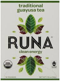 amazon tea amazon com runa clean energy traditional guayusa tea 16 count