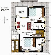 My Little Indian Villa 40r33 9 Exclusive Duplex House Plans For 1 Bhk Duplex House Plans