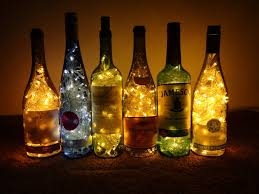 wine bottle lights by hiddendemon 666 on deviantart diy