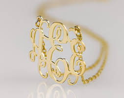 monogram jewelry cheap monogram ideas the undomestic