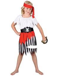 age high seas pirate fancy dress costume caribbean child kids