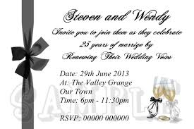 wedding vow renewal invitation wording samples vertabox com