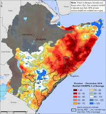 Map Of East Africa by East Africa Special Report Famine Early Warning Systems Network