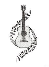 Guitar Tattoo Designs Ideas Best 25 Guitar Design Ideas Only On Pinterest Guitar Art