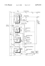 garage door opener circuit patent us6075333 kit for retrofitting manually operated electric