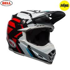 motocross helmet 2018 bell moto 9 motocross helmet district white black red 1stmx co uk