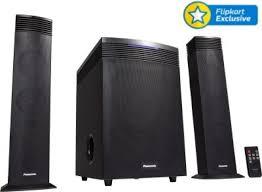 5 1 home theater system flipkart buy panasonic sc ht21gw k bluetooth home audio speaker online from