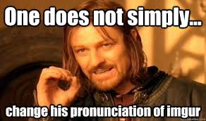 Memes Pronunciation - one does not simply cuddle in the morning mordorkfc quickmeme