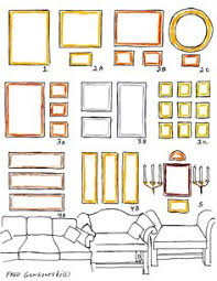 picture hanging arrangements sublime decor home pinterest