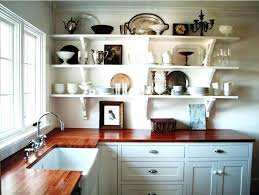 Ideas For Shelves In Kitchen Kitchen Shelf Ideas Bloomingcactus Me