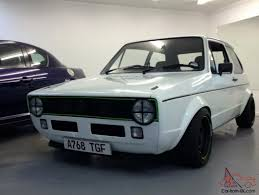 volkswagen golf custom vw volkswagen mk1 golf gtd custom built everyday usable classic mot