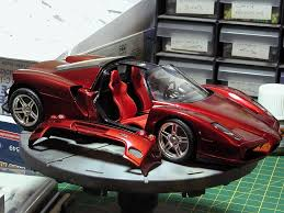 golden ferrari enzo enzo ferrari tamiya 1 24 display case arc discussion forums