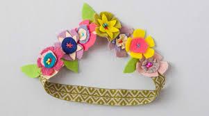 felt flower headband felt flower headband by annabel wrigley creativebug