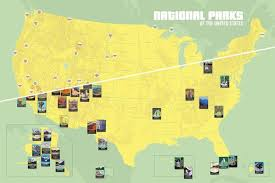 us map states national parks map shows the ultimate us national park road trip national parks
