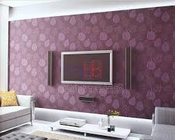 Bedroom Purple Wallpaper - purple pictures for living room home decorating interior design