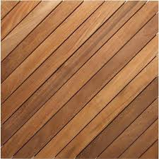 teak deck tile diagonal slat from east teak