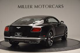 bentley black 2017 2017 bentley continental gt v8 s stock b1183 for sale near