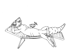 gecko coloring pages coloring