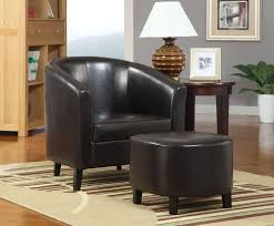 Leather Chair Upholstery Saginaw Upholstered Club Chair Streamlined Arm Chair Rubberwood