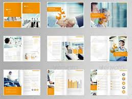 Multi Page Booklet Template multi page brochure template 20 awesome corporate brochure templates