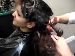 haircuts for girls 2017 haircut for girls on long curly hair to short 2017 youtube