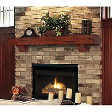 Rustic Mantel Decor Pearl Mantels Shenandoah Traditional Fireplace Mantel Shelf