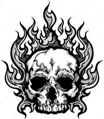coloring download flaming skull coloring pages flaming skull