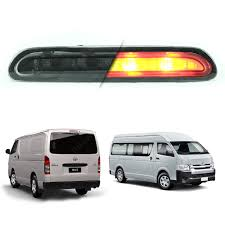 toyota hiace 2014 fits toyota hiace commuter van 05 2017 third brake lamp light