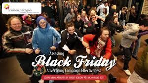 black friday social media campaigns assessing black friday advertising campaigns