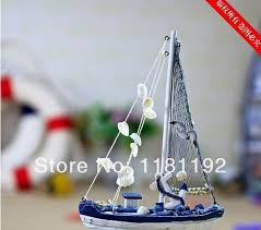 decorative crafts for home home decoration wooden sailboat model decor craft accessories