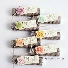 mint to be favors pastel wedding favors burlap wedding favors fall wedding favors