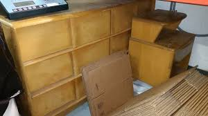 Heywood Wakefield Corner Cabinet Mid Century Modern Furniture Archives Iris Abbey
