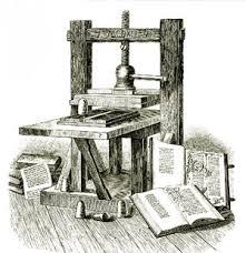 mesin cetak guttenberg