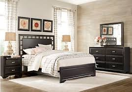 Boerum Bed Frame Boerum Hill Gray 7 Pc King Bedroom Panel Contemporary