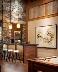 Modern Home Bars by Home Bar With Stools Warm Home Design