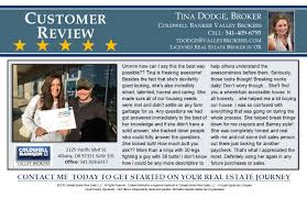 tina dodge coldwell banker valley brokers