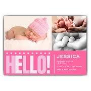 baby girl announcements baby girl birth announcements paperstyle