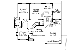 European Floor Plans European House Plans Lakeside 10 551 Associated Designs