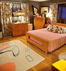 Best S Bedroom Ideas On Pinterest Retro Bedrooms Vintage - 60s home decor