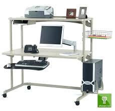 Small Rolling Computer Desk Rolling Computer Desk Small Rolling Computer Desk Image Of Medium