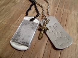 engraved dog tags for men two ways to personalize a dog tag pendant jewelry tutorial