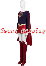 high quality halloween costumes for adults aliexpress com buy high quality movie supergirl kara zor el